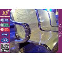 Quality Anti Rust Steel Waiting Area Chairs , Durable Metal Airport Waiting Chairs for sale