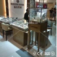 Quality super quality newest metal display for jewelry showcase for sale