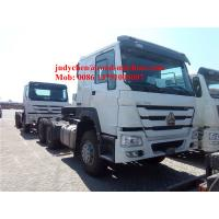 Quality SINOTRUK HOWO 6x4 tractor truck 371 HP trailer head, HOWO loading 40t prime mover truck, Euro 2 for sale
