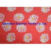 Quality Comfortable Handfeel Sateen Custom Cotton Fabric With Pink Flowers Soft Cotton Fabric for sale