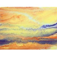 Quality landscape painting lake tree room wall decor for sale