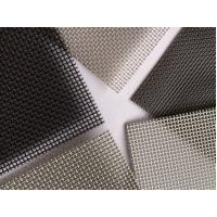 Quality ASTM E2016-15 standard T316 powder coated 11 mesh stainless steel insect screen for windows and doors for sale