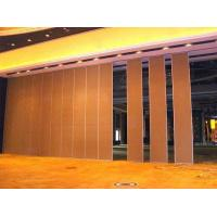Buy Folding Internal Sound Proof Partitions , Lightweight Removable Acoustic Insulation Doors at wholesale prices