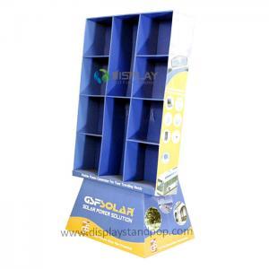 JC Corrugated Cardboard Display Racks for Supermarket Promotion