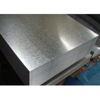 Buy JIS G3302 Hot Dip Galvanized Steel Sheet SGLCC 0.12mm - 3.0mm * 1250mm at wholesale prices