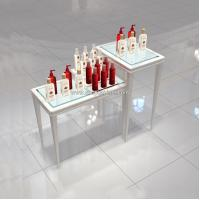 Quality china custom made cosmetic store showcase for sale