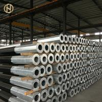 Quality 12m SPF 960daN Hot Dip Galvanized Pole 9600N 33KV 30KV ASTM 572 GR65 GR50 for sale