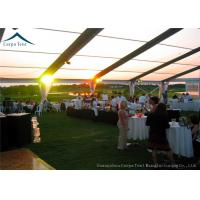 Quality Beautiful Decoration Outdoor Party Tents With Water Proof PVC Roof  For  Party , Wedding for sale
