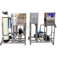 China Drinking RO Water Treatment System Ozone Cycle System Sand Filter , Carbon Filter on sale