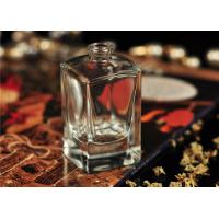 Quality Travel Square Glass Perfume Bottles Antique With Personal Care for sale