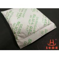 Quality High Performance Silica Desiccant Packets , Solid Desiccant Anti Rust Tyvek Paper Package for sale