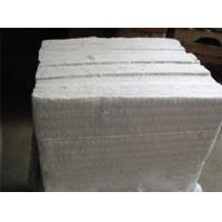 Quality High Heat Insulation Refractory Ceramic Fiber Board White Color For Air Stove for sale