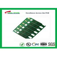 Quality 2 Layer Flash Gold PCB Green Solder Mask Quick Turn PCB Prototypes Fiducial Marks Add for sale