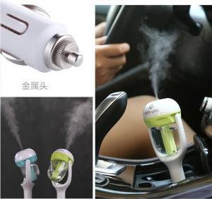Quality 12V Car Steam Humidifier Auto Mini Air Purifier Freshener Car Portable Air Purifier Aroma Diffuser Essential Mist Maker for sale