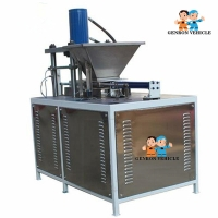 China Hydraulic Extrusion Noiseless  400kg Dry Ice Pellet Machine on sale