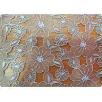 Quality Beautiful Upholstery Dress Sofa Polyester Embroidered Fabric for sale