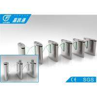 Quality Acrylic Glass Retractable Barrier Gate , Stadium Turnstile Gate With Card Reader for sale