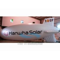 Quality Inflatable Zeppelin Air Balloon / Helium Advertising Blimp For Commercial Event for sale