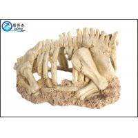 Buy Dinosaur Model Cool Fish Tank Decoraitons , Hand Painted Aquarium Resin Ornament at wholesale prices