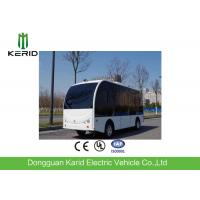 Quality Road Safety Solar Powered Electric Vehicle By AGV 8 Seater With EPS Braking System for sale