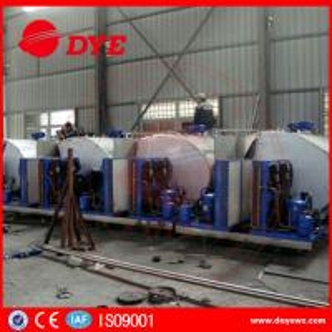 Quality Sus304 1000 Liter Milk Cooling Tank Refrigeration Compressor ISO9001 for sale