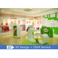 Quality Modern Fashion Kid Clothing Store Interior Design With Custom Size Color Logo for sale
