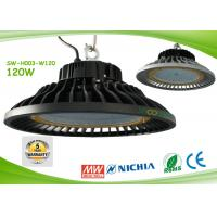 Quality 50000H 120w Nichia Chip Led Industrial Lamp 14500lm 120° Beam Angle for sale