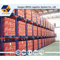Quality Double Entry Powder Coating Drive In Pallet Racking For Raw Materials for sale