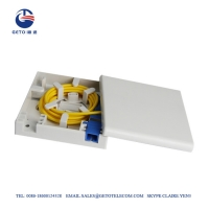 Quality FTTH Sc / APC Faceplate Wall Socket OEM Fiber Terminal Box IP65 for sale