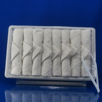 Quality White Hot Airline Disposable Cotton Towel for sale