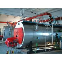 Quality Corrugated Furnace Oil Fired Steam Boiler , High Efficiency Natural Gas Steam Boiler for sale