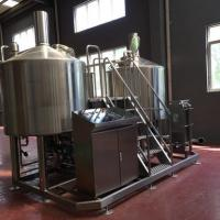 Quality Turnkey Brewery Equipment 3 Vessel Brewhouse SS Brewing Equipment 20Bbl for sale