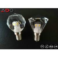 Quality 450lm Dimming Led Candle Lights , 4.3w 2700k Light Bulb Crystal E12 Base for sale