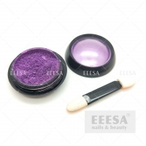 Quality Nail Decoration Art Purple Mirror Effect Acrylic Chrome Nail Pigment Powders for sale