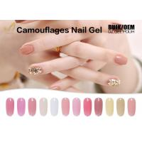 Quality 15ml Camouflage Nail Gel No Heat Builder Gel With 24 Colors Sample Provided for sale