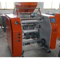Quality High Efficiency Stretch Film Rewinding Machine with touch screen 280mm - 500mm Width for sale