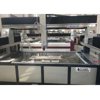 Quality High Speed 3 Axis Granite Water Jet Cutting Machine CNC Controlled 4000 X 2000mm for sale