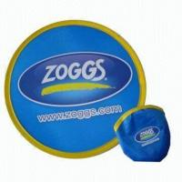 Quality Foldable Nylon Flying Disc, Measures 10 x 10 Inches for sale