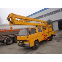 China JMC 14M Aerial Platform Truck , 6 Wheel Aerial Bucket Truck 14 Meter on sale