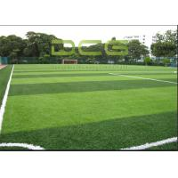 Buy Emerald Green Soccer Artificial Grass FIFA Standard 12000 Dtex Fullness Surface at wholesale prices