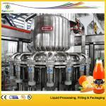 Quality 2000BPH - 20000BPH Juice Filling Machine , Automatic Tropical Fruit Production Line for sale