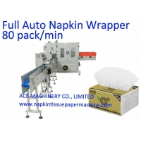 China 90 Bag/Min Automated Paper Napkin Packing Machine on sale