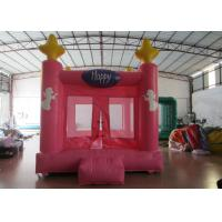 Quality Colourful Custom Inflatable Big Bouncy Castle Kids Indoor Inflatable Bouncer Fire Resistance PVC for sale