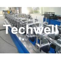 Quality 80mm, 100mm Or 120mm Custom Round Downspout Roll Forming Machine for Rainwater Downpipe for sale