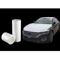Quality Transport Wrap Automotive Protective Film Solvent Based Acrylic Glue 0.07mm Thickness for sale