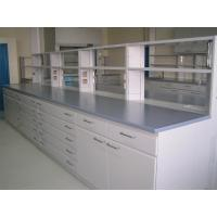 Quality Steel School Lab Furniture , Aluminum Alloy Column Portable Lab Bench for sale