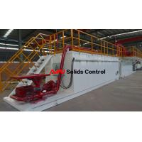 Quality Professional rectangular drilling fluid mud tank used in drilling mud process for sale