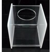 Quality Customized Acrylic Tissue Box,Tissue Box Cover for sale