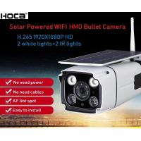 Buy Outdoor water-proof 2Mp 1080P Wireless Solar powered HMD camera two ways audio at wholesale prices