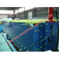 Quality Auto PLC Gutter Roll Forming Machine / Cold Roll Forming Equipment With 3 Tons Decoiler for sale